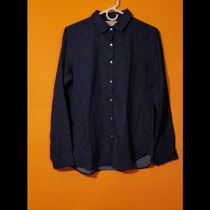MUJI button up top